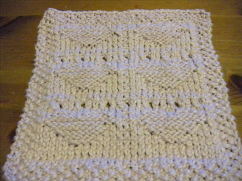 Monthly dishcloth 2